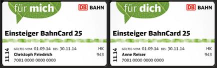 abonnements bahncard und geht ohne kndigung bis 6 wochen vor ablauf automatisch in eine regulre bahncard 25 der entsprechenden klasse ber - Bahncard Kndigen Muster