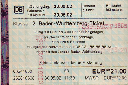 Baden wurttemberg single