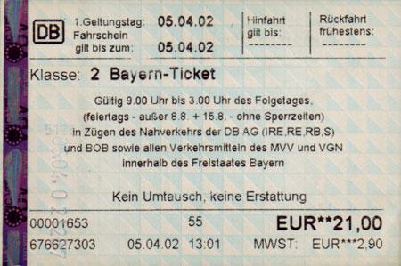 ticket: Galerie Ländertickets Deutschland